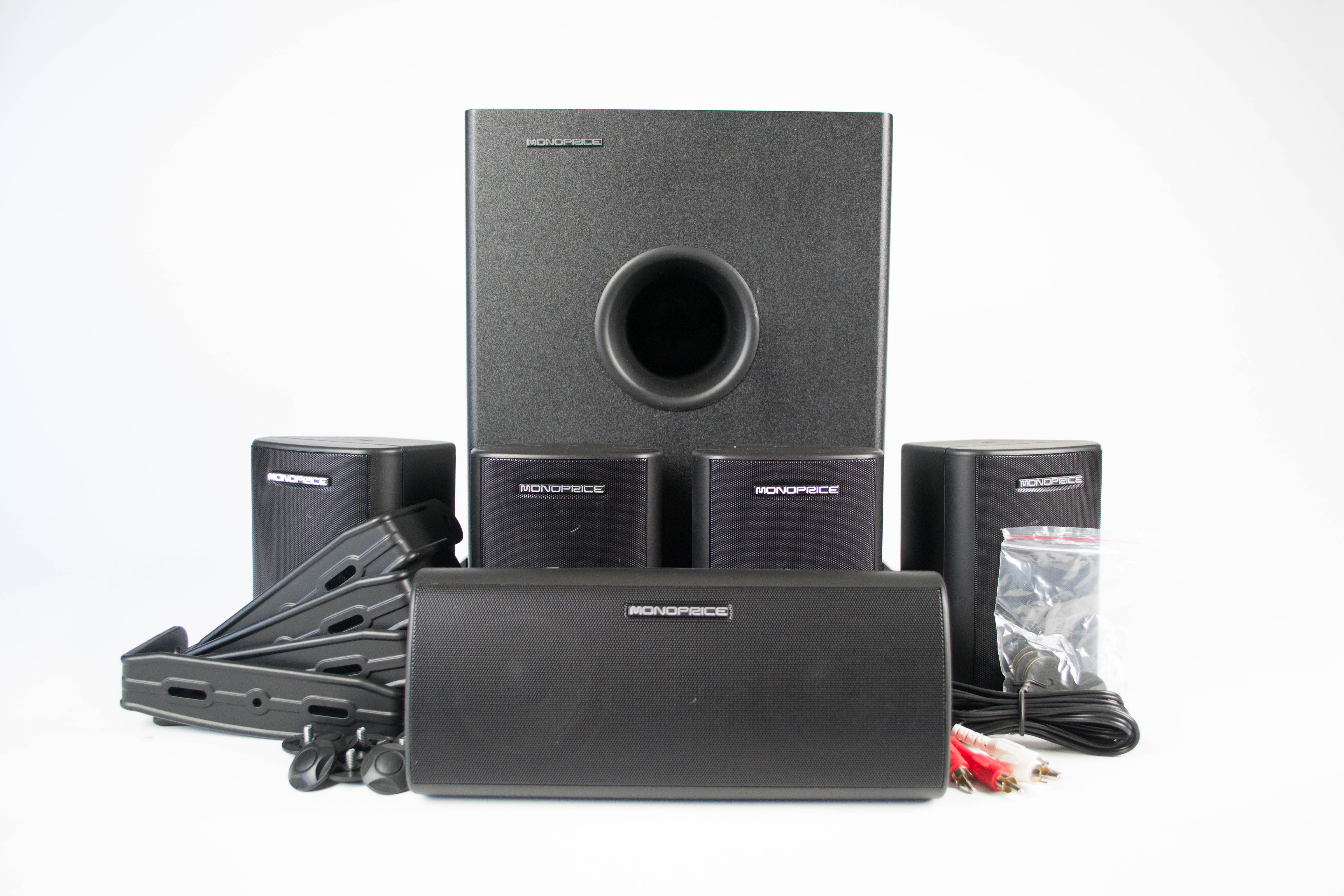 Monoprice 8247 5 1 Channel Speaker System Review