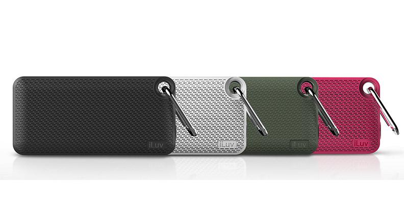 iluv announces handy outdoor speaker in the aud mini 6. Black Bedroom Furniture Sets. Home Design Ideas