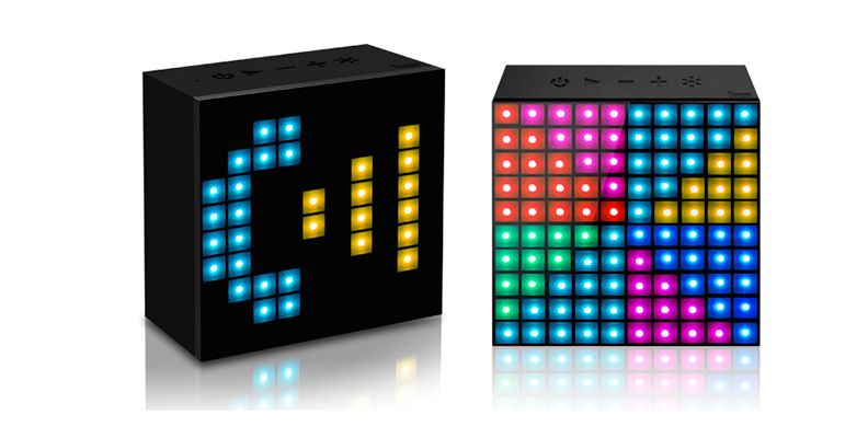 The Divoom Aurabox is a Bluetooth speaker/LED light board