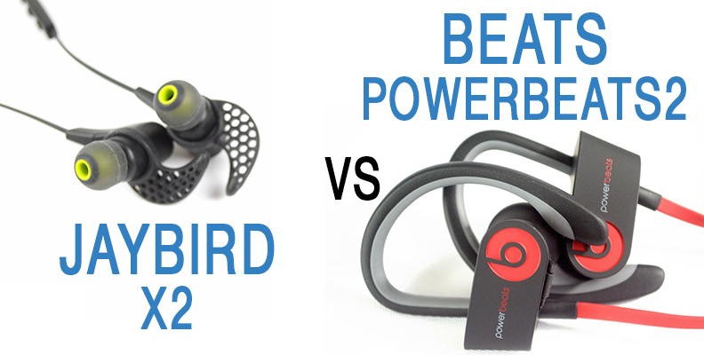JaybirdX2 vs Beats Powerbeats2