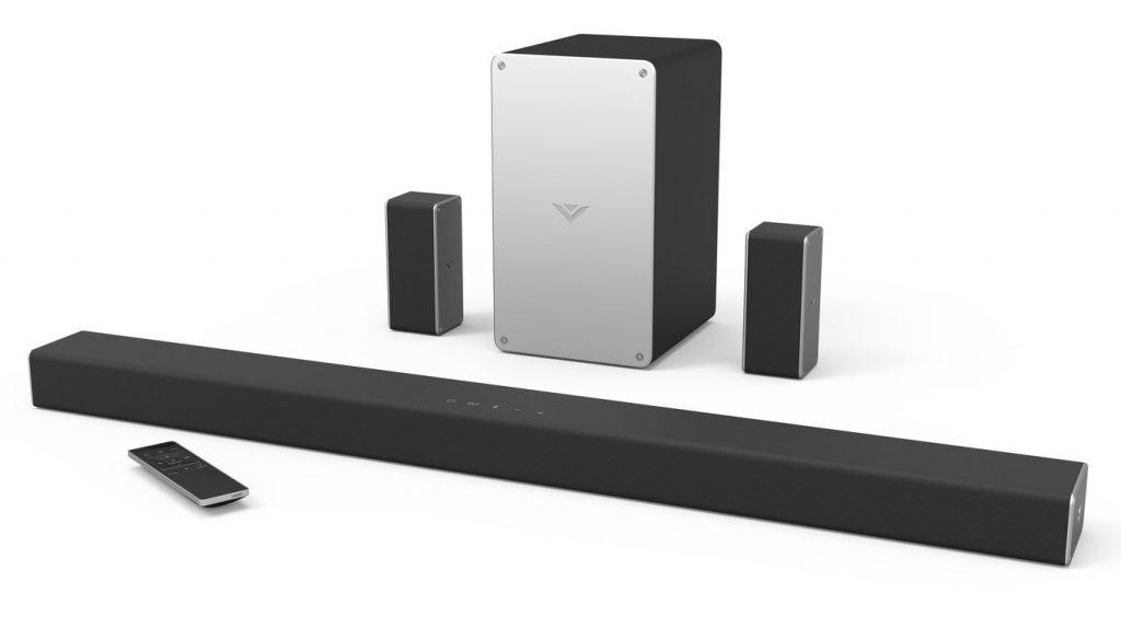 A manufacturer photo of the Vizio SmartCast system.