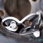 BackBeat FIT headphones wireless Bluetooth Workout Sweat resistant waterproof