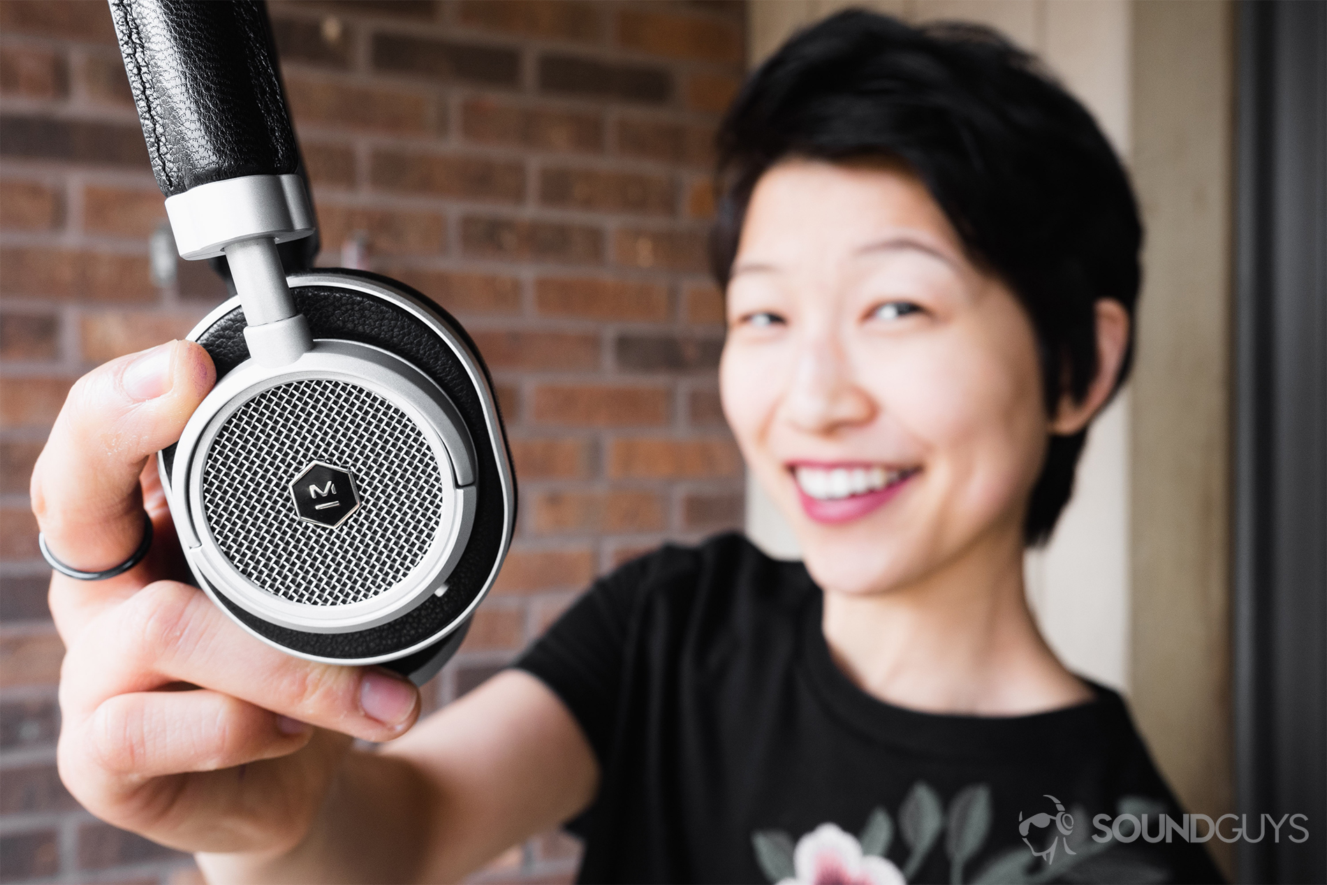 0b808599a7b Master & Dynamic MW50 Wireless review: The headphones held by Lily.