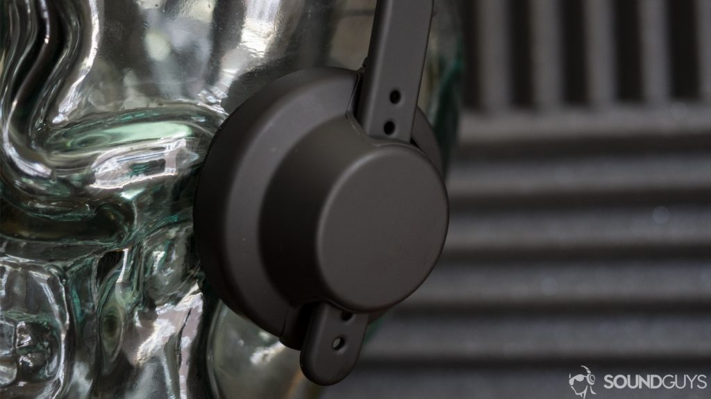 A photo of the ear cups on the AiAiAi TMA-2 MFG4.