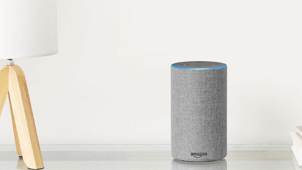 Amazon Echo second generation lifestyle product image. Black Friday audio deals