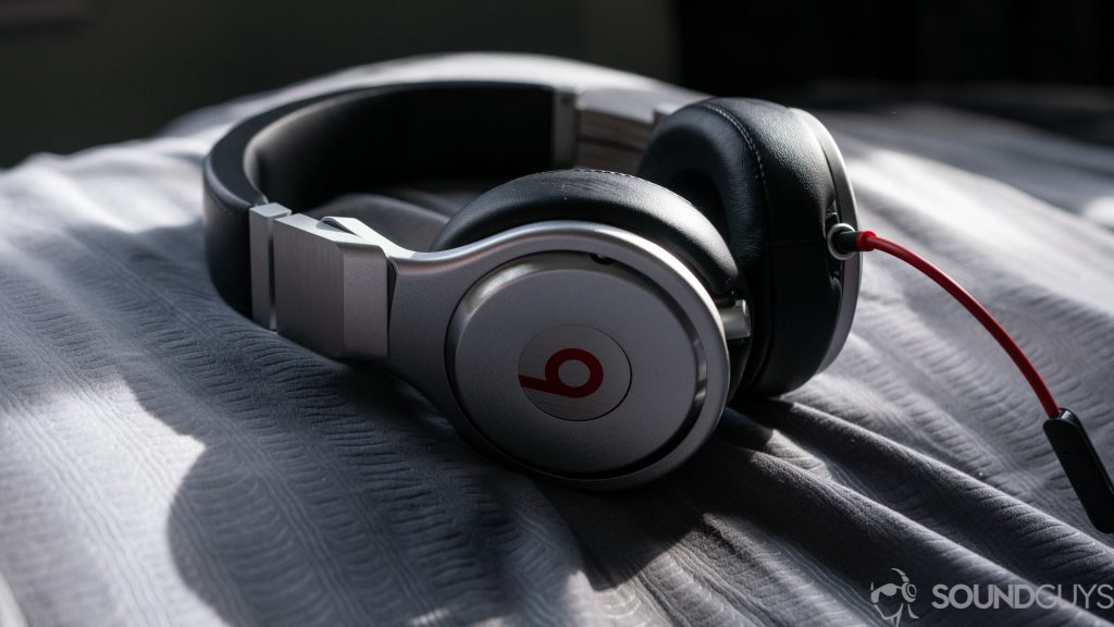 Shot of the Beats Pro in the sun