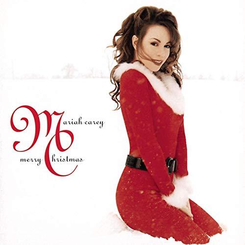 Christmas: Mariah Carey album art.