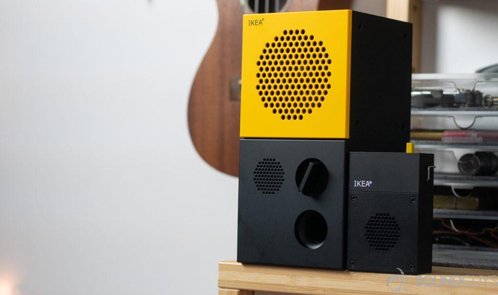 """IKEA FREKVENS Teenage Engineering Portable Mini Bluetooth Speaker 2x4/"""" NEW"""