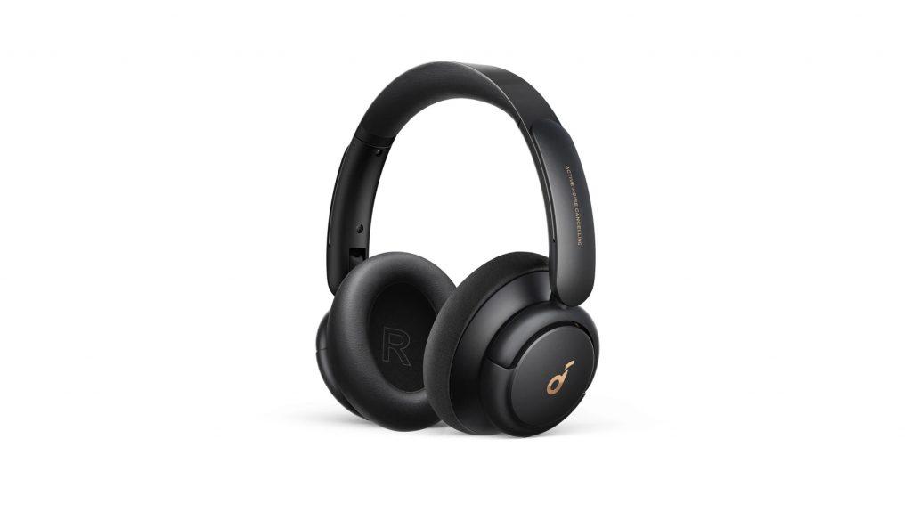 Anker Soundcore Life Q30 noise cancelling headphones against a white backdrop